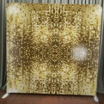 glitter photo booth backdrop