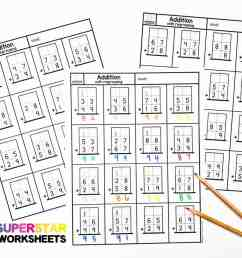 Addition with Regrouping Worksheets - Superstar Worksheets [ 924 x 1199 Pixel ]