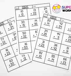 Double Digit Addition Without Regrouping - Superstar Worksheets [ 900 x 1200 Pixel ]