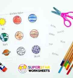 Solar System Worksheets - Superstar Worksheets [ 771 x 1024 Pixel ]