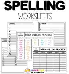 Free Spelling Worksheets - Superstar Worksheets [ 1028 x 924 Pixel ]