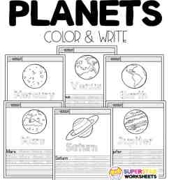 Planet Worksheets - Superstar Worksheets [ 1024 x 920 Pixel ]