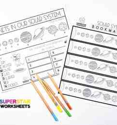 Solar System Worksheets - Superstar Worksheets [ 768 x 1024 Pixel ]