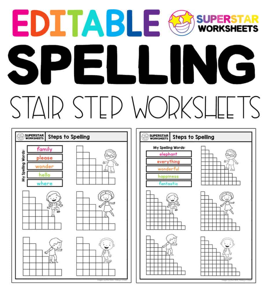 medium resolution of Spelling Worksheets - Superstar Worksheets