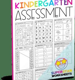 Kindergarten Assessment Worksheets - Superstar Worksheets [ 1003 x 795 Pixel ]