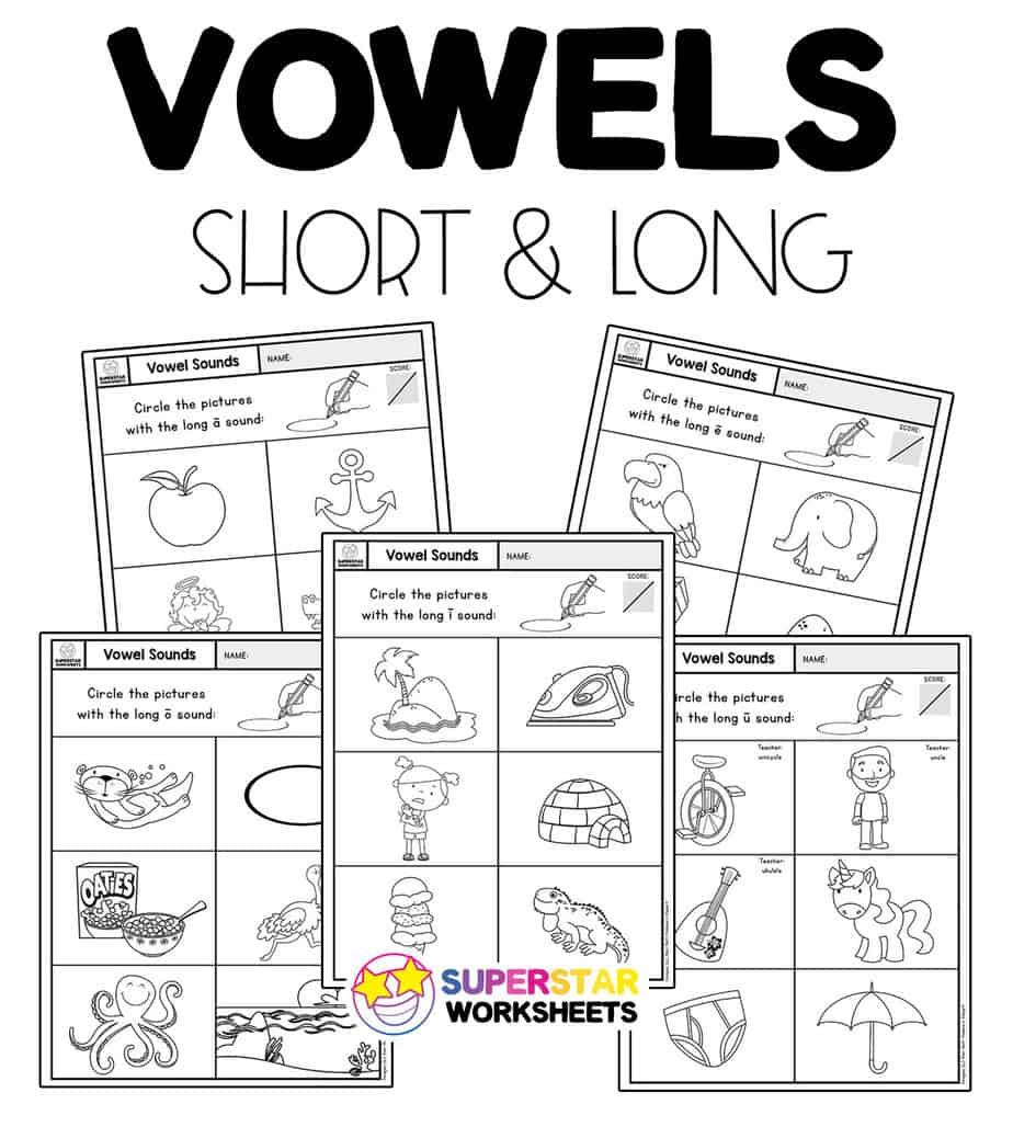 medium resolution of Vowel Sounds Worksheets - Superstar Worksheets
