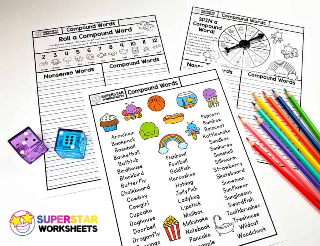 hight resolution of Compound Words Worksheet - Superstar Worksheets