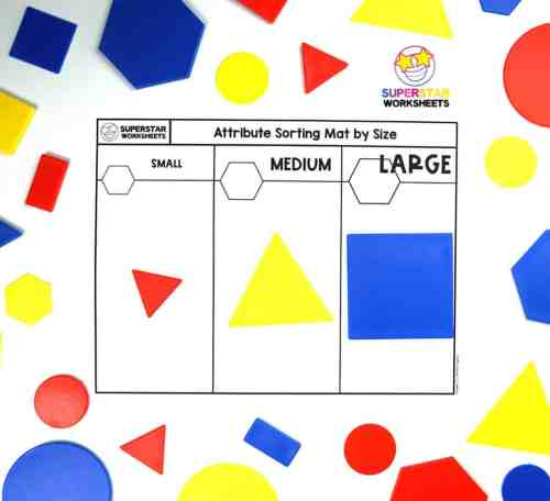 small resolution of Shape Attributes Worksheets - Superstar Worksheets