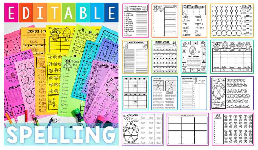 medium resolution of Free Spelling Worksheets - Superstar Worksheets