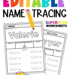 Name Tracing Worksheets - Superstar Worksheets [ 1024 x 804 Pixel ]