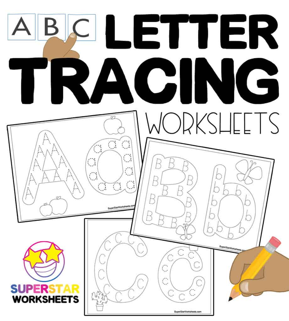medium resolution of Tracing Worksheets - Superstar Worksheets