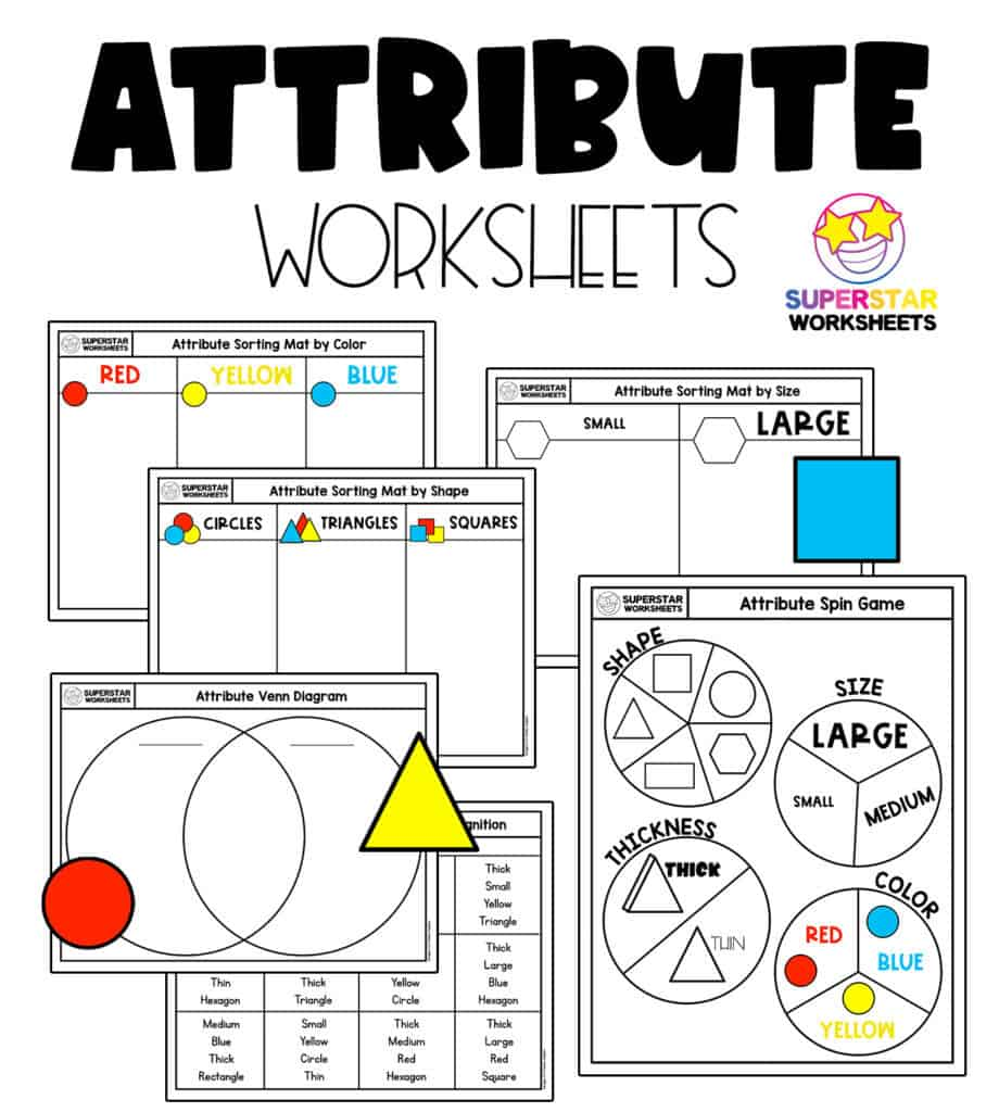 medium resolution of Shape Worksheets - Superstar Worksheets