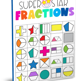 Fractions Worksheets - Superstar Worksheets [ 1003 x 795 Pixel ]