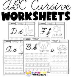 Cursive Worksheets - Superstar Worksheets [ 1024 x 920 Pixel ]
