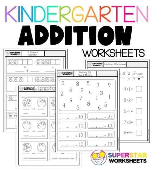small resolution of Kindergarten Math Worksheets - Superstar Worksheets