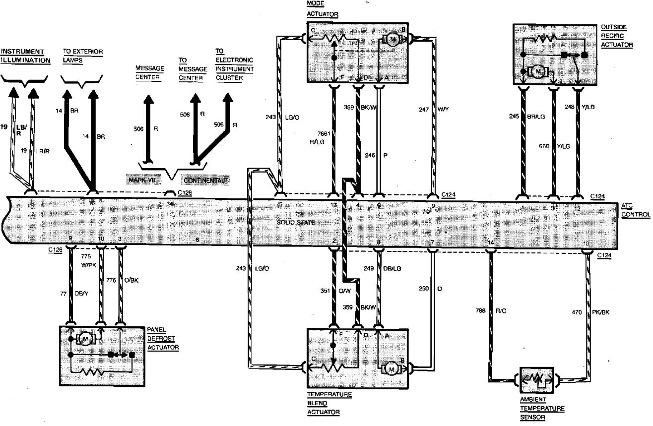 1998 Lincoln Mark Viii Wiring Diagram : 37 Wiring Diagram