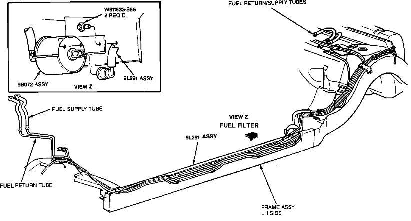 Wiring Diagram PDF: 2003 Kia Rio Fuel Filter Location