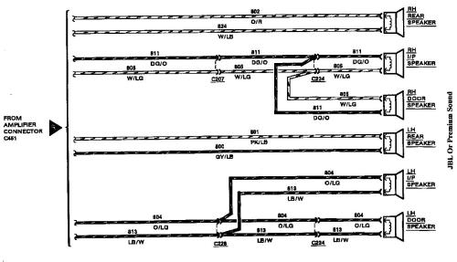 small resolution of 1993 lincoln town car radio wiring diagram