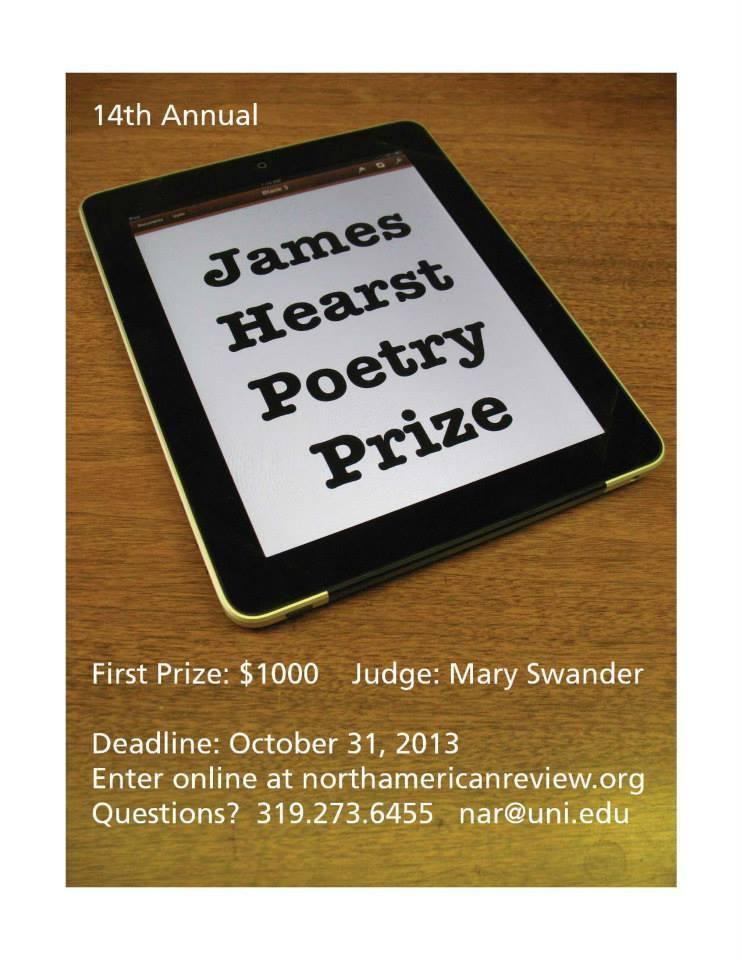 James Hearst Poetry Prize