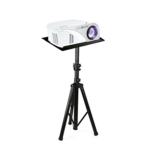 ExquizOn T5 Mini LCD LED Portable Projector Upgraded 1800