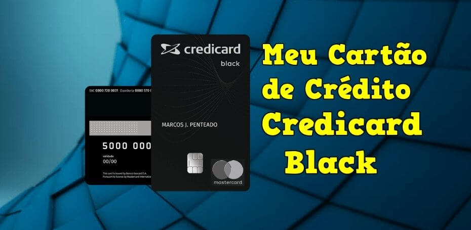 Cartão de crédito Credicard Black