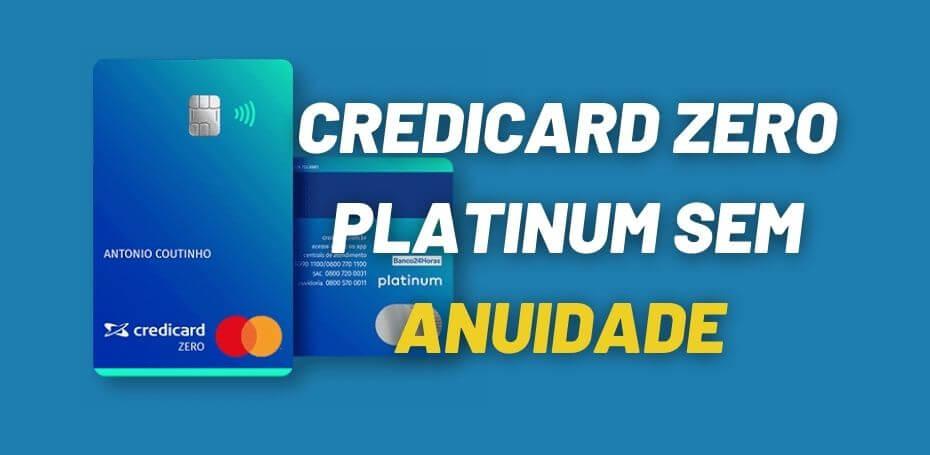 cartão de crédito sem anuidade credicard