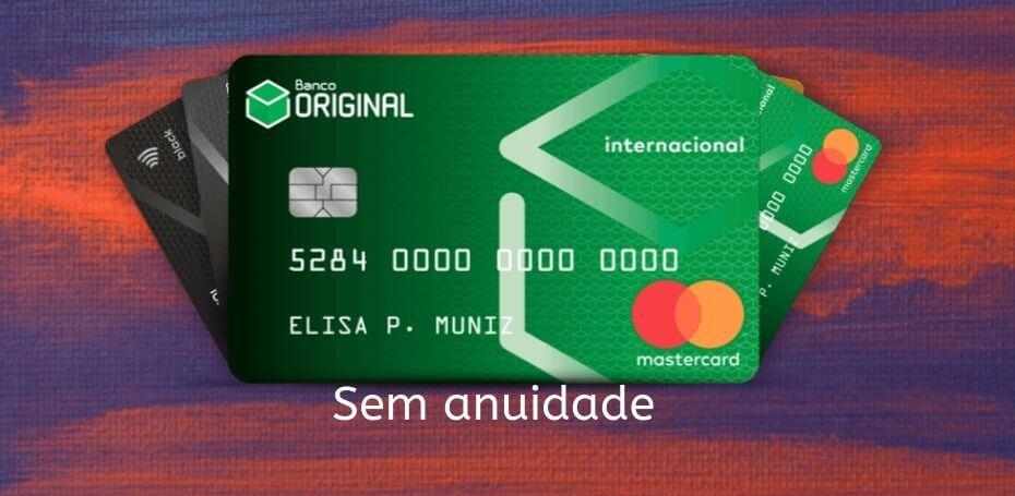 cartão sem anuidade