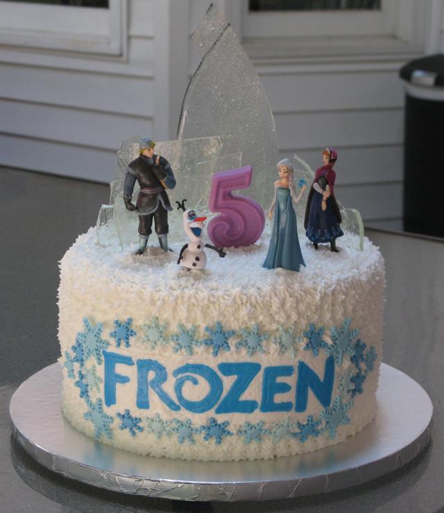 Frozen Birthday Cake Super Sweet Tooth