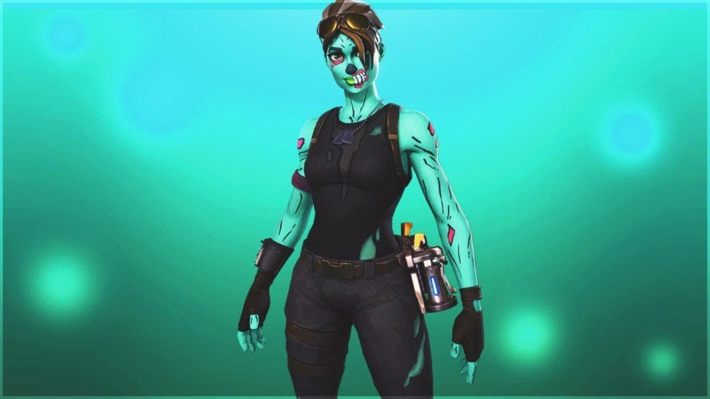 Zombie Fortnite Trooper Skin