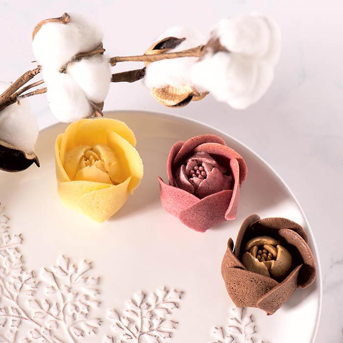 【久久津乳酪】鬱金香玫瑰 限時贈送雪鶴蛋糕(原味)一顆   食尚玩家購物