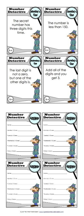 Number Detective : number, detective, Number, Detective