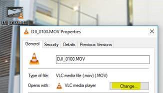Windows 10 File Association