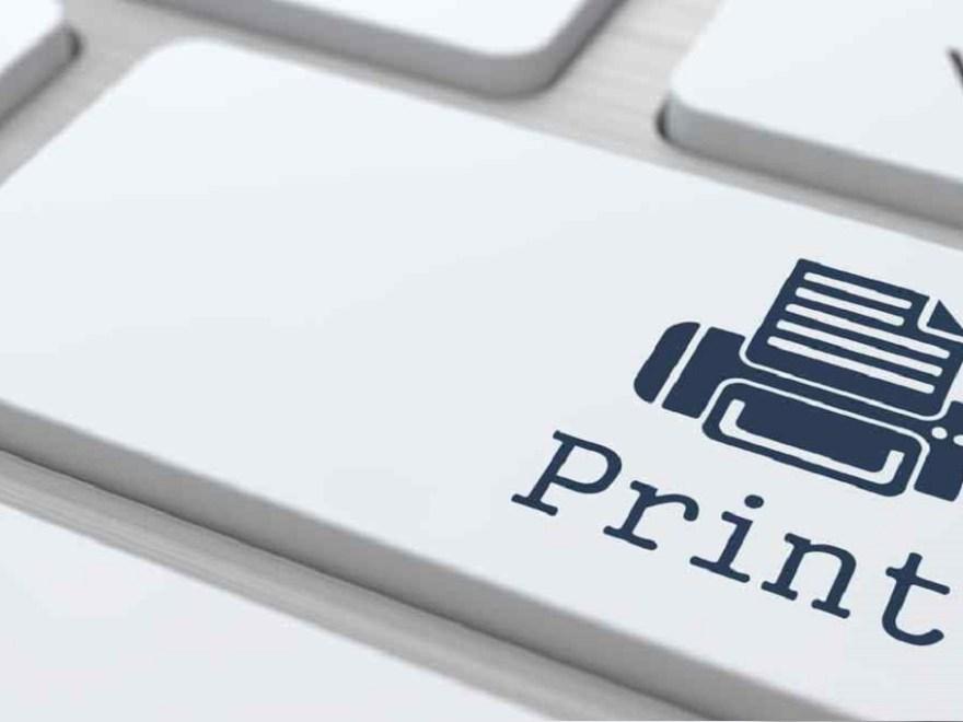 Print webpage