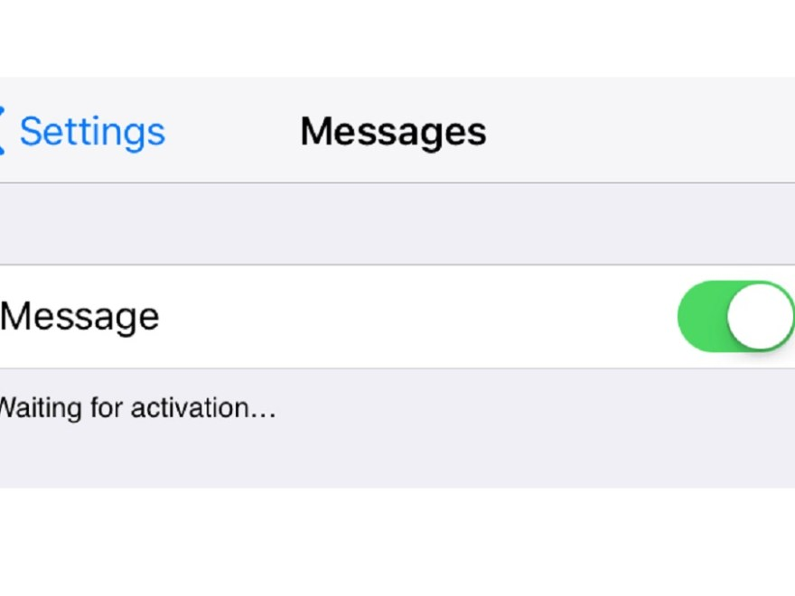 How To Fix Imessage Waiting For Activation Issue Supertechman