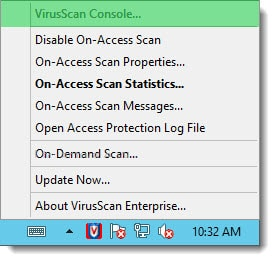 McAfee VirusScan Enterprise Exchange 2013 2016