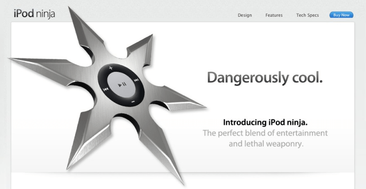 iPod Ninja: o novo modelo