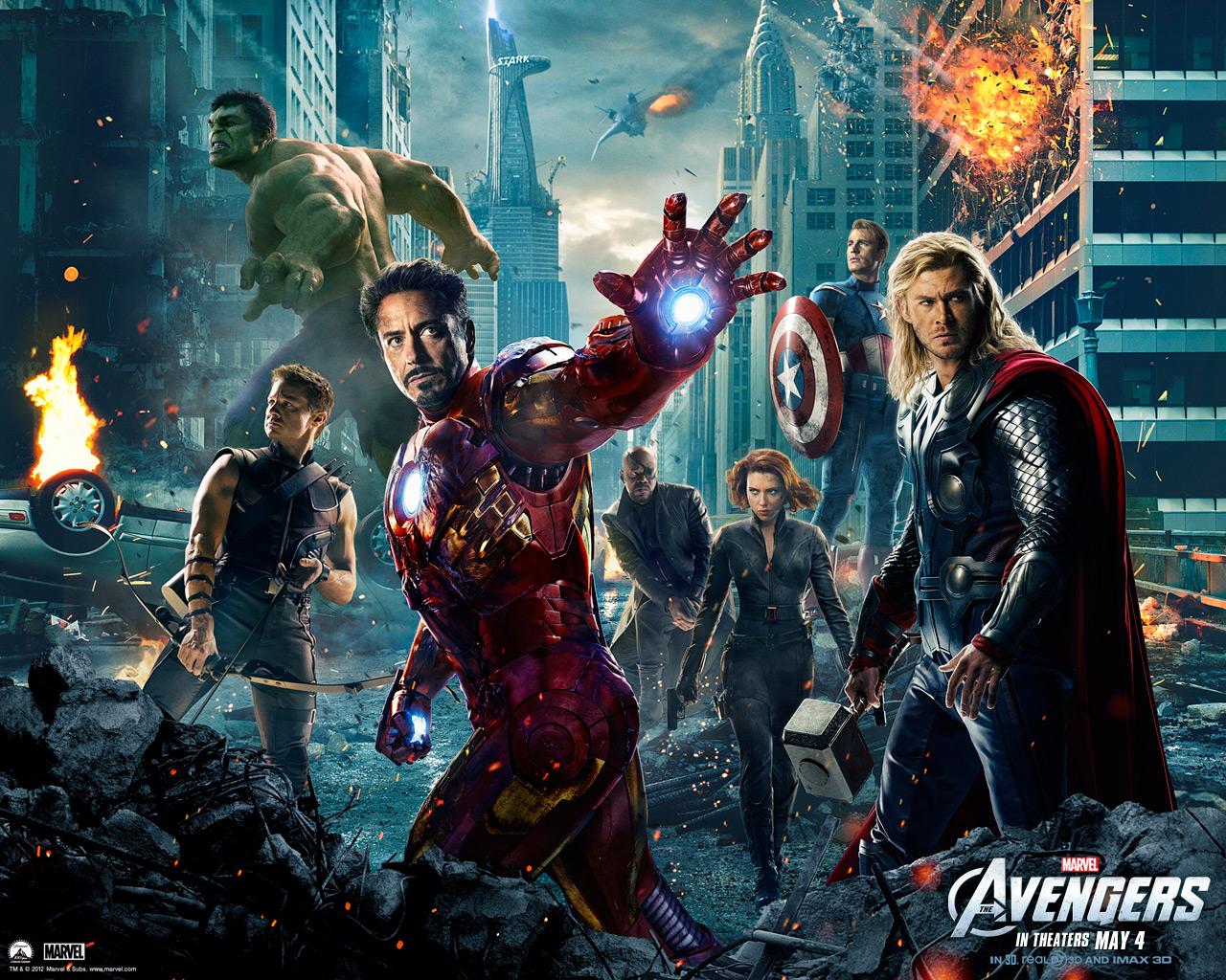 Marvel: Os Vingadores com recorde de bilheteira