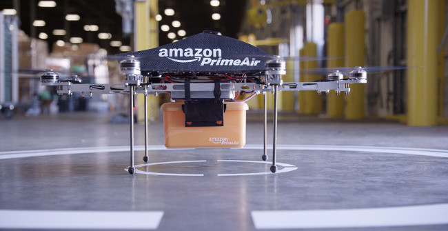 AMAZON prepara-se para utilizar drones para entregar encomendas [Video]