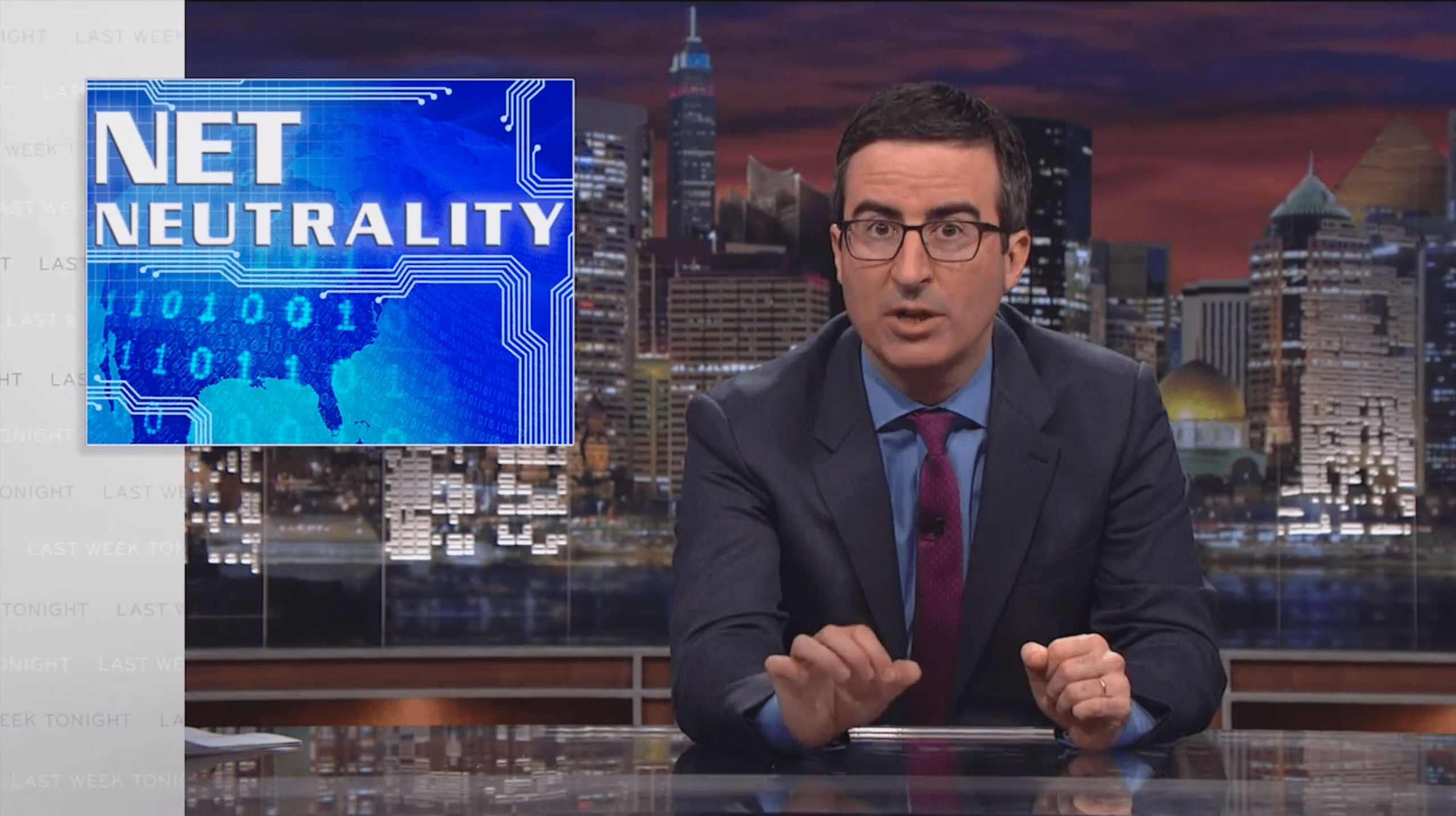 Neutralidade da Internet: Por John Oliver [Video]