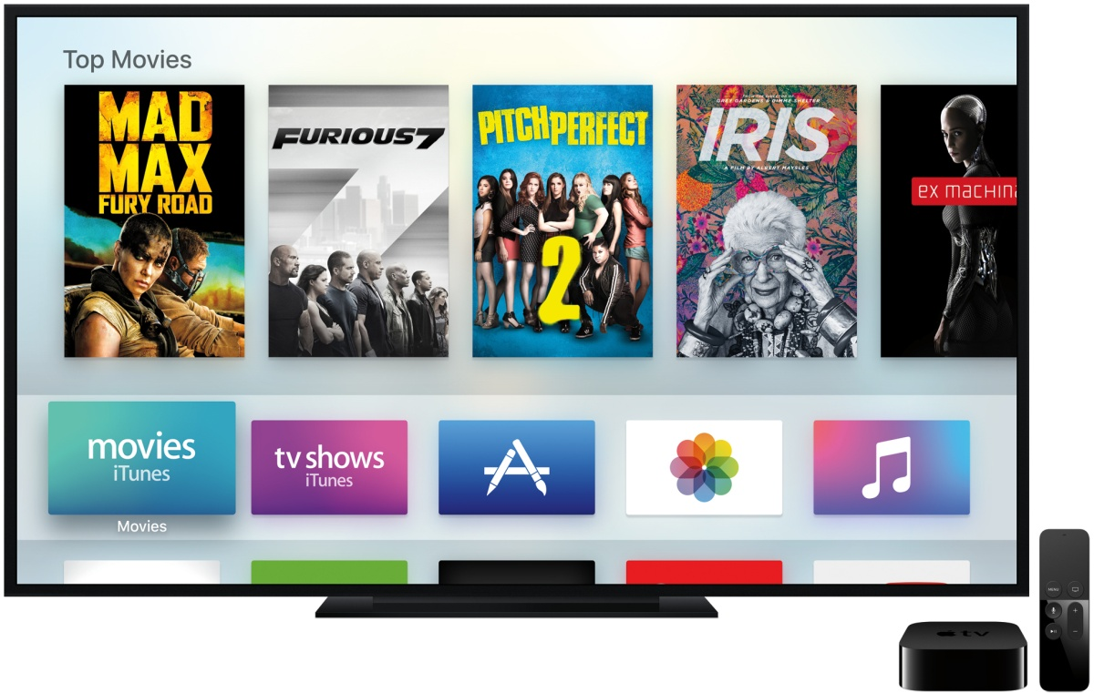 APPLE TV: O futuro da TV são APPs