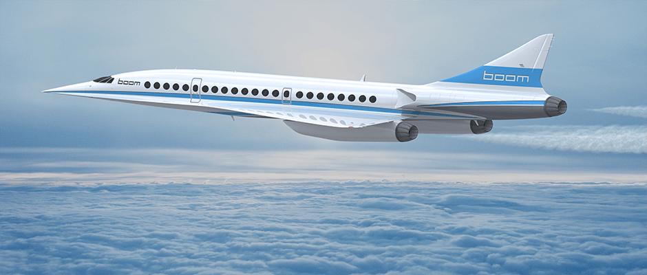 Virgin Galactic e Boom: Regresso dos aviões supersónicos