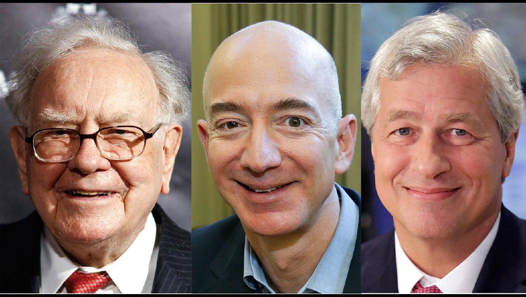 Amazon, Berkshire e JP Morgan aliam-se na saúde