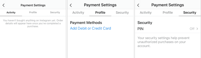 Instagram-Payments