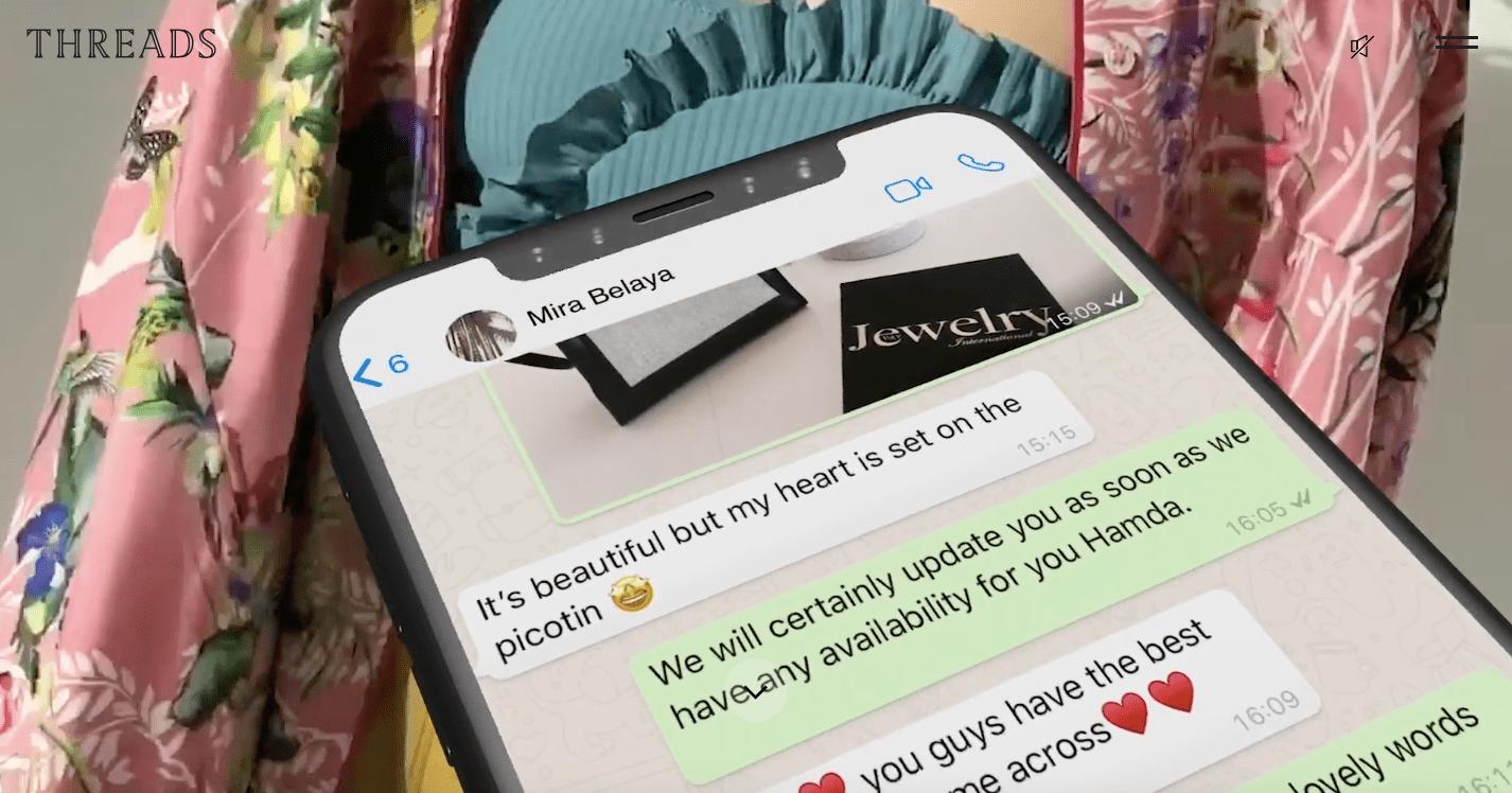 """Threads Styling, o player """"invisível"""" no e-commerce de luxo"""