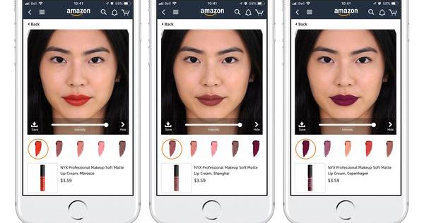 L'Oréal permite experimentar maquilhagem na Amazon