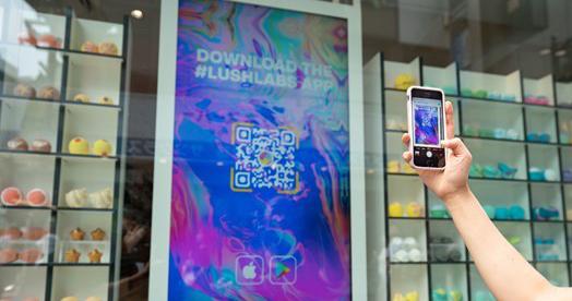 Lush cria nova experiência digital em loja