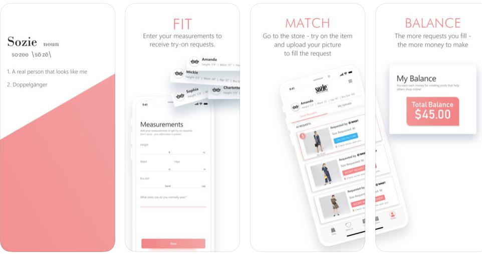 "App Sozie disponibiliza ""sósias"" para experimentar roupa"
