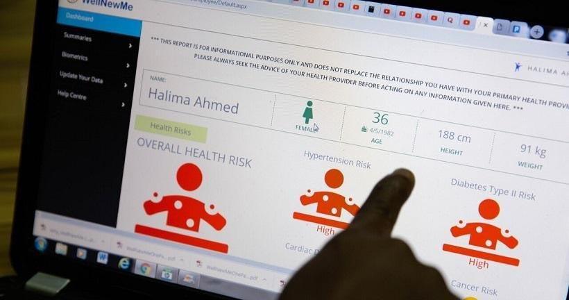 WellNewMe: plataforma para avaliar o estado de saúde