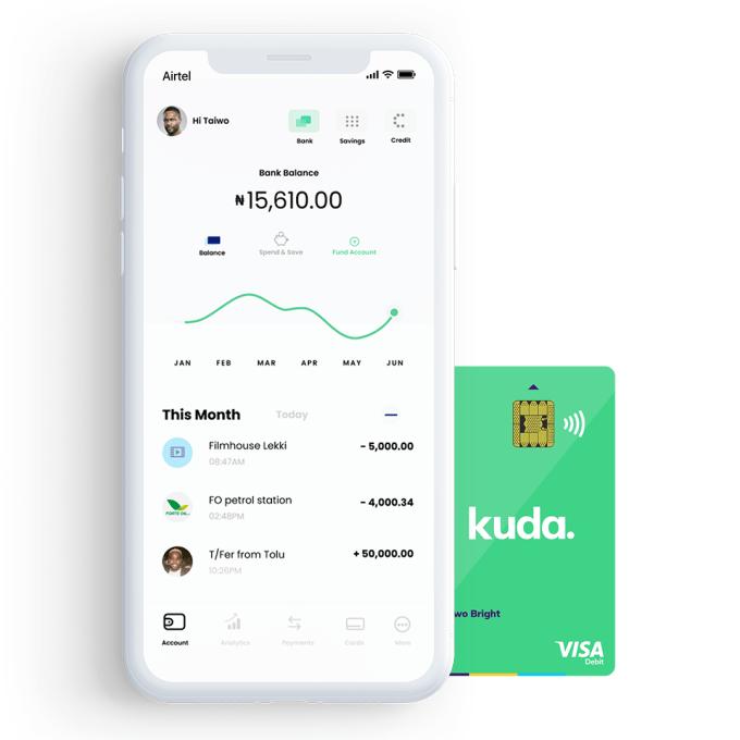 Kuda: novo banco africano 100% mobile