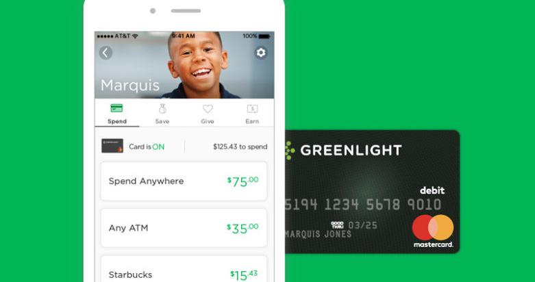 Greenlight: cartão de débito para crianças